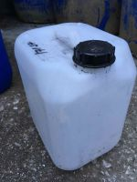 10 Litre, HDPE, Screw Cap Jerrycan, Clear