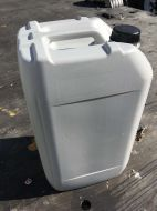 25 Litre, HDPE, Screw Cap Jerrycan, Grey