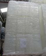 25 Litre, HDPE, Screw Cap Jerrycan, Clear, NEW, PALLET OF 40